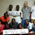 L'équipe Open Street Map Sénégal le 18 octobre. © DR