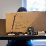 Rien de tel qu'un petit proto pour tester une carte programmable. © Quentin Chevrier