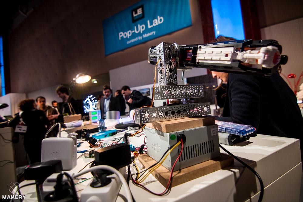 Do it with Makers! Makery fait son Pop-Up Lab à LeWeb