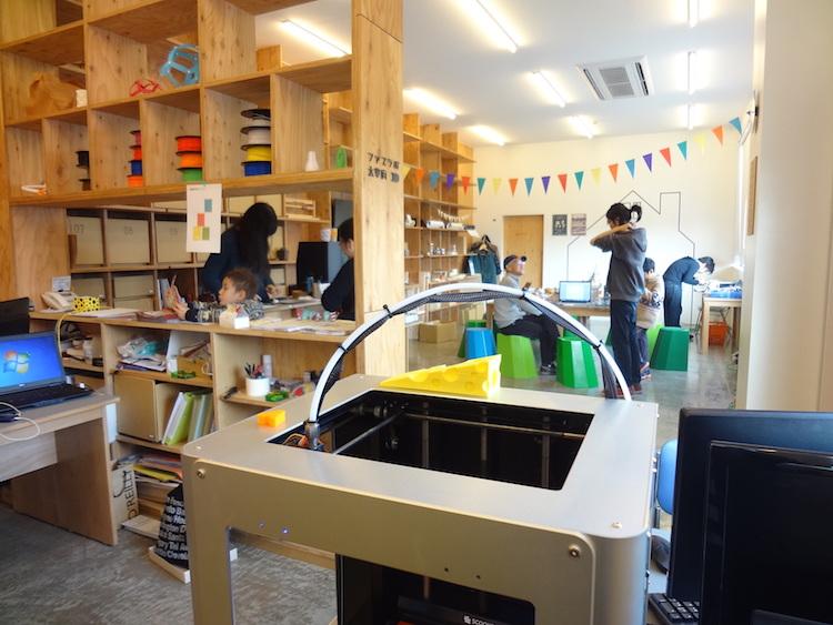 Kyushu, trois fablabs sur la troisième île du Japon