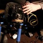La version alpha de l'Axiom, première caméra numérique open source.  © Annick Rivoire