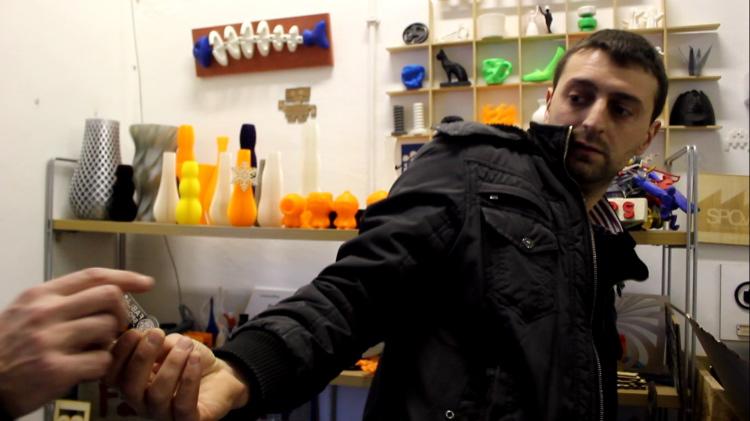 SPQwoRk: visite d'un «container de talents» à Rome
