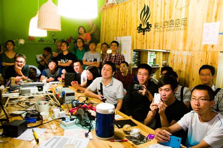 Le réveil de la Chine et ses hackerspaces, par Mitch Altman
