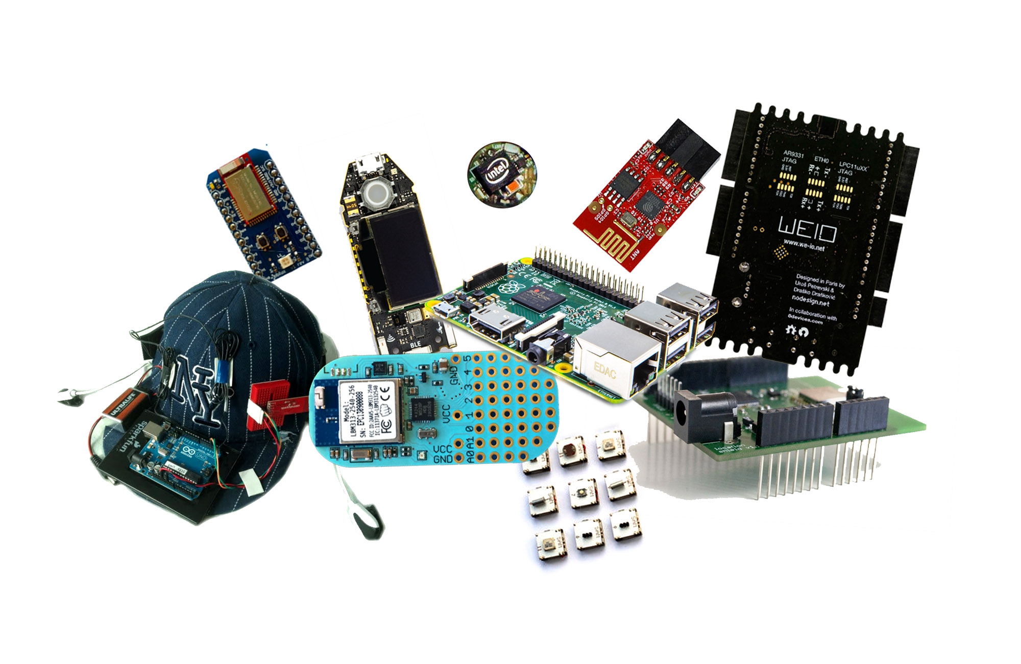 Top 10 Hardware Prototyping Kits Continued Makery Picture Of The Test Circuit