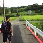 Chris « Akiba » Wang dans la communauté rurale de Kozuka à Chiba (Japon). © Cherise Fong