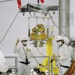 ARTSAT2: DESPATCH, une œuvre d'art en orbite. Ici, le chargement pour son lancement par la fusée H-IIA de l'agence spatiale japonaise. © JAXA